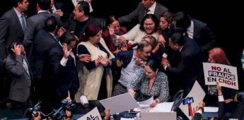 Madero asegura que se manifestó pacíficamente