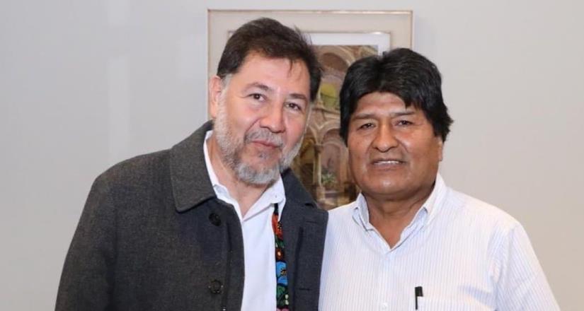 Legisladores de Morena analizan la vaquita para Evo Morales