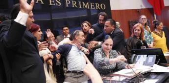 Morena va por remoción de Gustavo Madero y Kenia López
