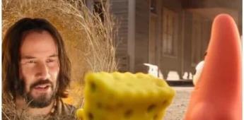 Lanzan tráiler de la película Bob Esponja: Al Rescate con Keanu Reeves