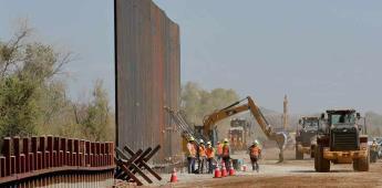 Quieren filmar constantemente en vivo la construcción del muro de Trump