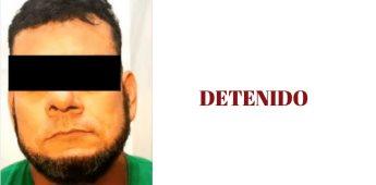 Arresta GESI a integrante del Cártel de Sinaloa con fuerte cantidad de droga y armamento