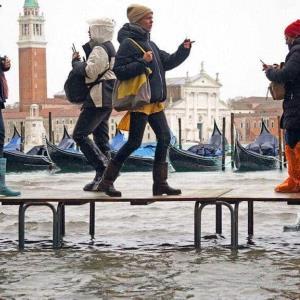 La barrera incompleta que hubiera protegido Venecia de la mayor marea en medio siglo