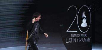 Juanes recibe homenaje en los Latin Grammy