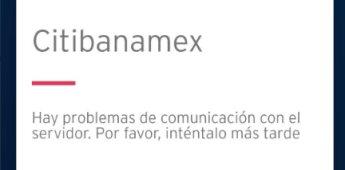 En pleno Buen Fin 2019, Citibanamex presenta fallas en servicio
