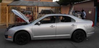Localiza GESI vehículos robados en predio de Tijuana