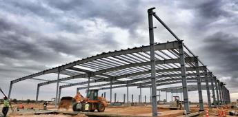 Inspecciona Gobierno Federal construcción de Agroparque en B.C