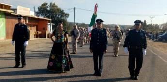 Suspenden desfile en San Quintín por las lluvias
