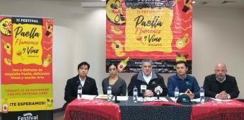 Anuncian el segundo Festival de la Paella, Flamenco y vino