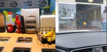 Por medio de twitter ayuda a su hermana a conseguir clientes para su local de Waffles