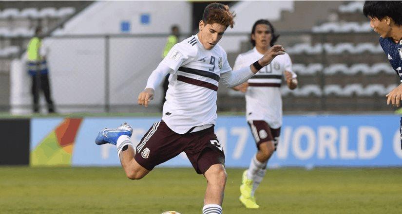 Gol mexicano es elegido como el mejor del Mundial Sub-17
