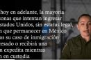 Advierte EU que impedirán que los migrantes permanezcan libres si entran a pedir asilo