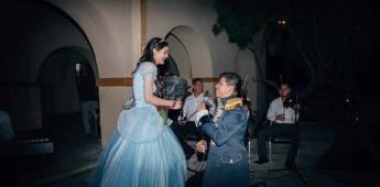 Una propuesta de matrimonio muy original