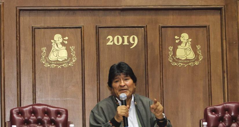 Evo Morales pide ayuda a mexicanos para su manutención