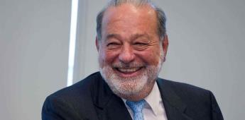 Hay confianza en la inversión financiera, afirma Carlos Slim