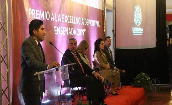Entregan Premio a la Excelencia Deportiva Ensenada 2019