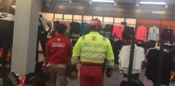 Arrojan gas pimienta a negocios de Monterrey para robar