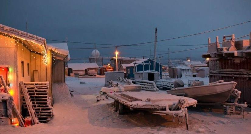 La ciudad de Alaska que no volverá a ver el sol hasta 2020