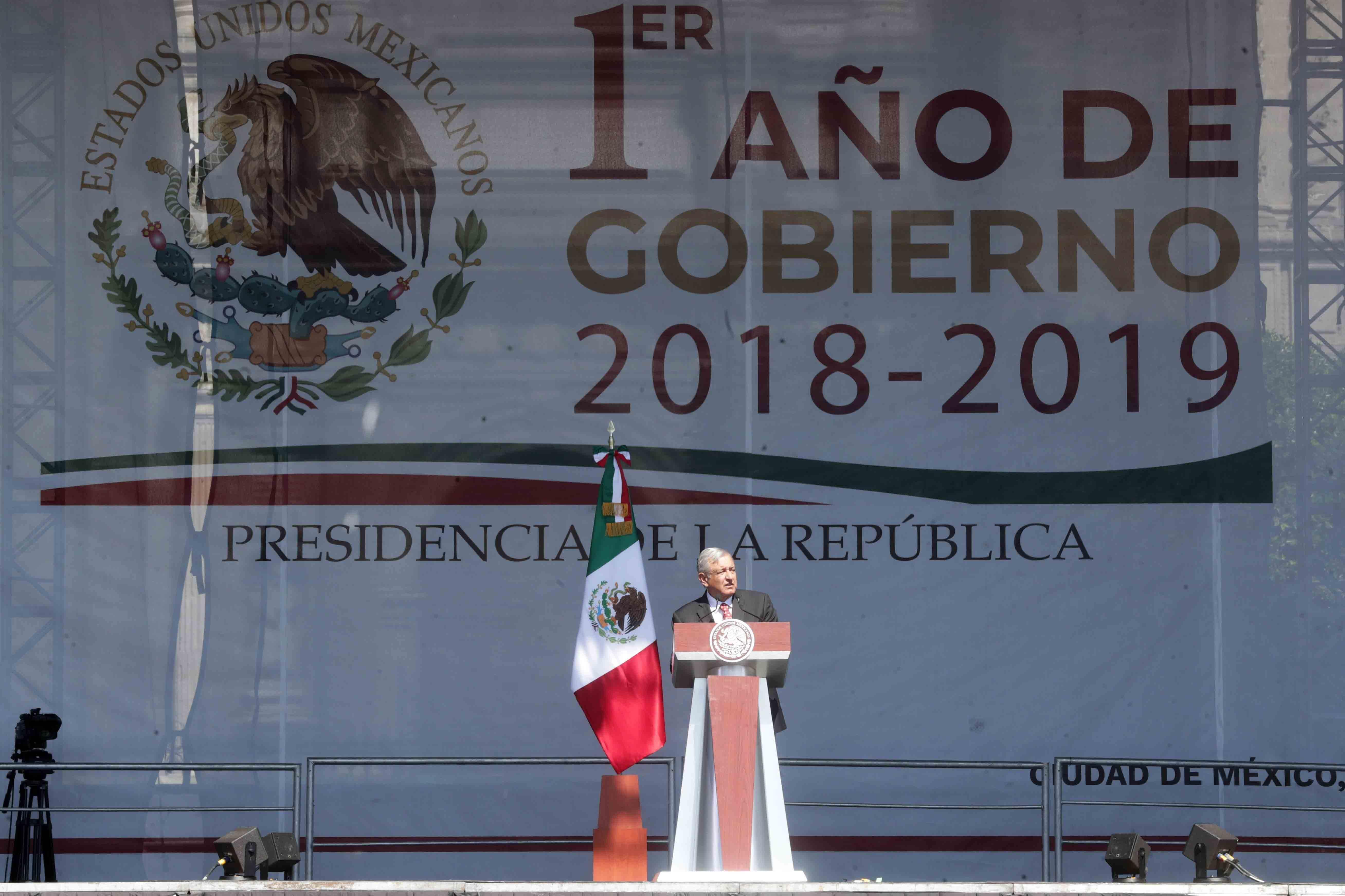 Ceremonia del Primer Año de Gobierno 2018-2019