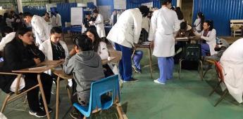 Lleva la UABC jornada de salud a el Vergel