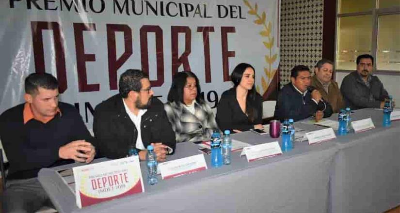 Tendrá Imdet Premio Municipal del Deporte 2019
