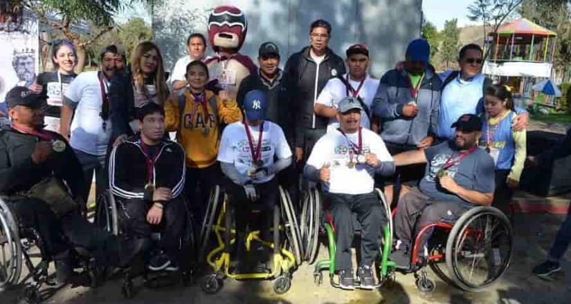 Convocan a carrera de  atletas con discapacidad