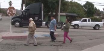 Intransitables las calles de Tecate por aumento de baches