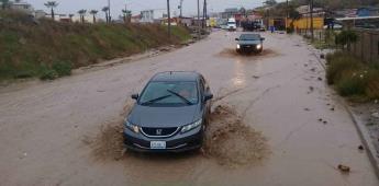 Informa gobierno de Playas de Rosarito situación de la ciudad por lluvias