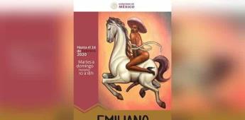 Zapata feminizado crea polémica homófoba