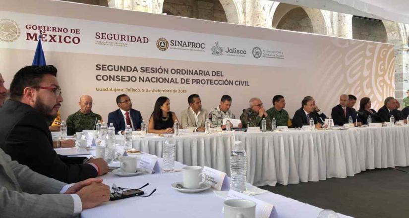 Se integra BC  a consejo nacional de protección civil