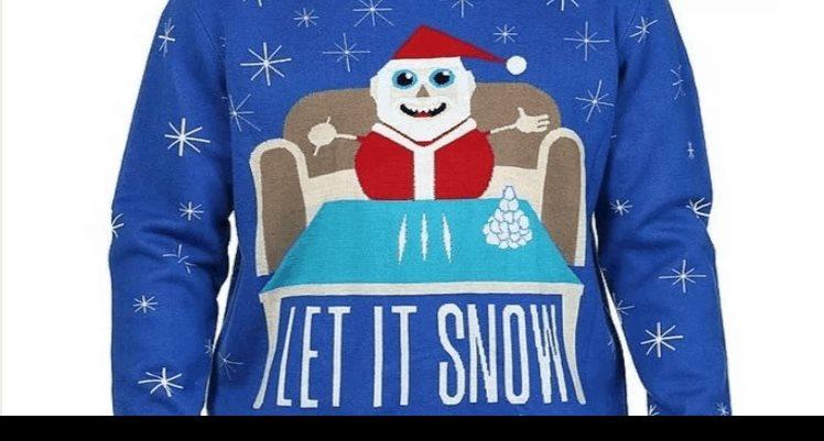Walmart retira suéter de Santa Claus con cocaína