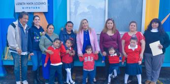 Otorgó diversos apoyos la diputada federal Lizbeth Mata Lozano