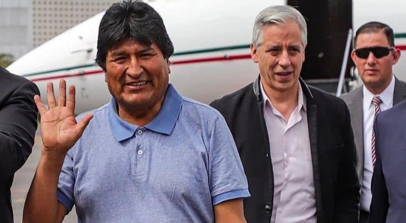 Evo Morales hace política, pese a petición de Argentina