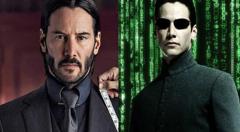 """¡Doble dosis de Keanu Revees! """"Matrix 4"""" y """"John Wick 4""""  llegarán el mismo día"""