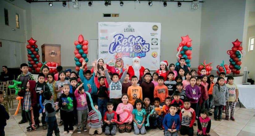 """Celebraron el evento """"Regalemos Sonrisas"""" en San Quintín"""