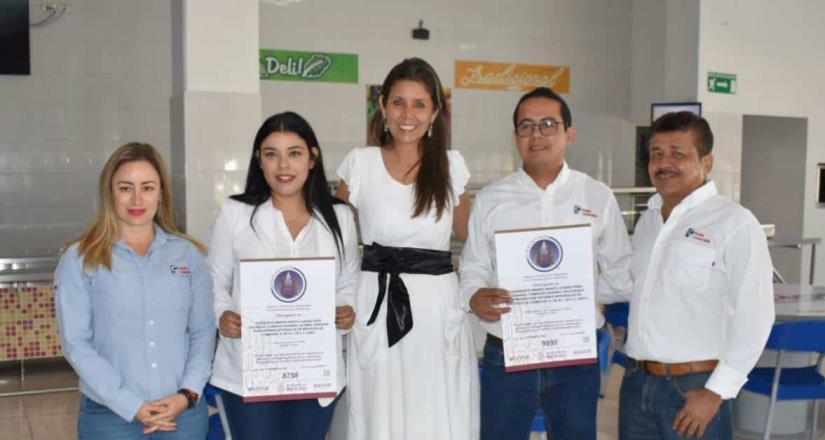 Gobierno del Estado de Colima en distintivos H para Holcim de México y Peña Colorada