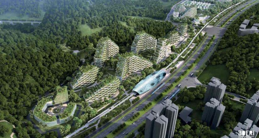 China proyecta realizar la primera ciudad forestal en el mundo