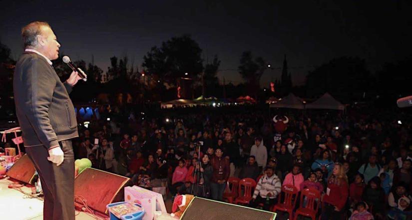 Disfrutan 15 mil ciudadanos de la Posada Vecinos Tijuana celebrada en el Parque Morelos