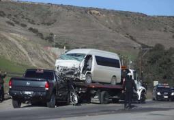 San Quintín tiene un tramo carretero con múltiples accidentes