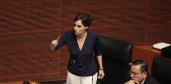 Ordenan separar a Lilly Téllez de bancada de Morena en Senado