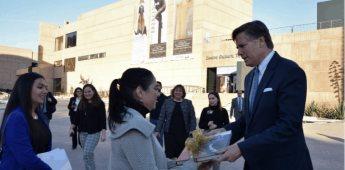 Visitó el embajador de Estados Unidos en México el Centro Cultural Tijuana