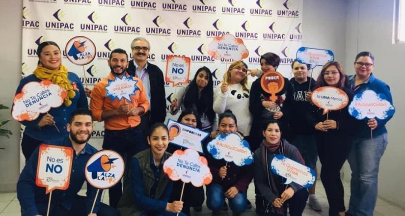 """Emprenden acciones de concientización con campaña """"#NoMásViolencia"""""""