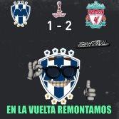 Memes del partido Rayados vs Liverpool