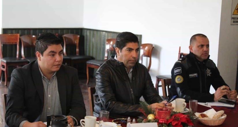 Reconoce Gobierno de México participación de Armando Ayala en las mesas de seguridad