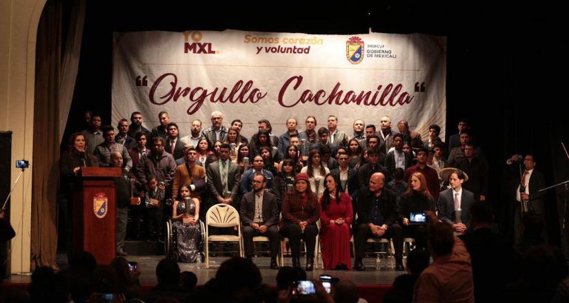 Viven atletas mexicalenses una noche de reconocimiento