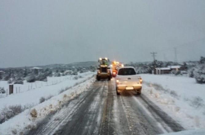 La Rumorosa ofrece sus nevadas durante diciembre y enero