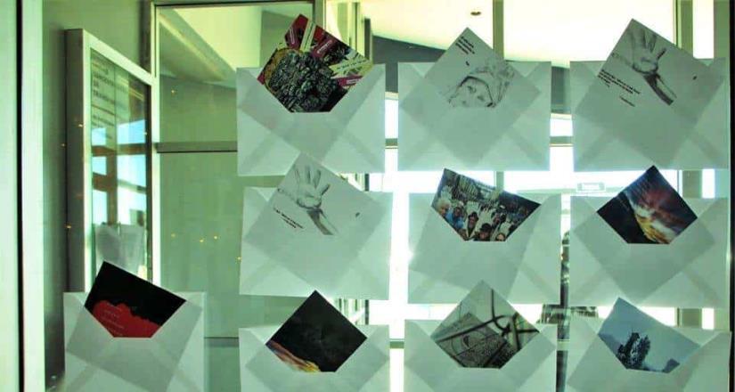 Crearon postales con poesía para San Quintín