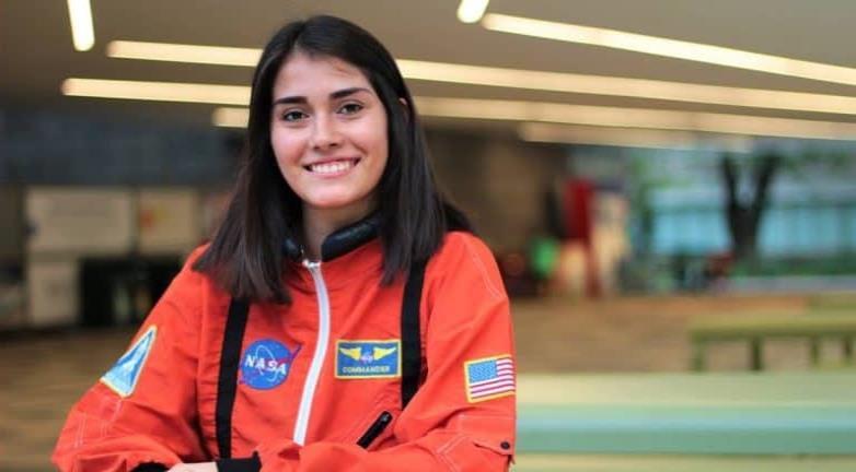 Joven mexicana si podrá cumplir su sueño de ser astronauta en la NASA