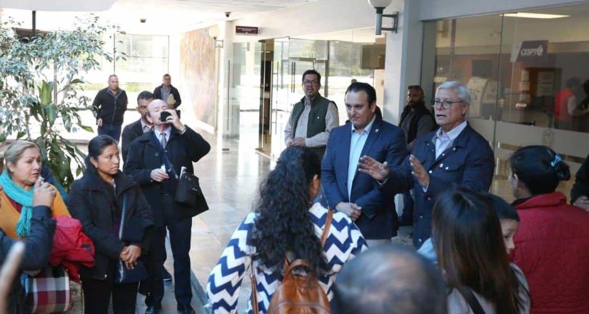 Cumple Gobernador Jaime Bonilla Valdez pago a Maestros Antorchistas en Tijuana