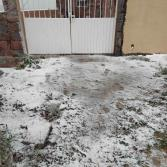 Por frente frío baja la temperatura y cae nieve en 4 estados